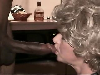 Mature amateur interracial