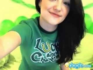 Irish emo hottie, beer and webcam