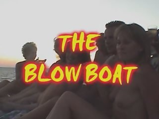 SWINGERS PARTY on the BLOW BOAT