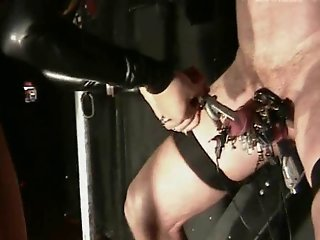 Extrem cock and balls torture cbt