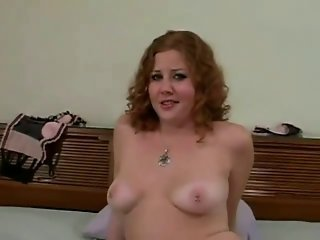 Horny Fat Chubby Teen Ex GF masturbating her Pink Pussy