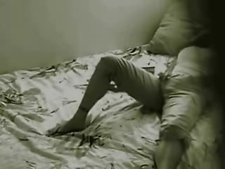 Hidden cam caught masturbation of my sister