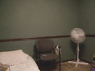 Girl in her bedroom with her boyfriend on the phone 1