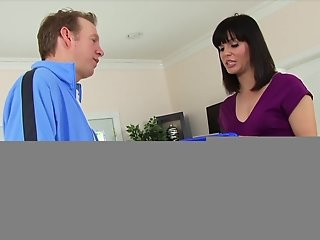 LeWood Bobby Starr Gets her Hairy Pussy and Ass Fucked