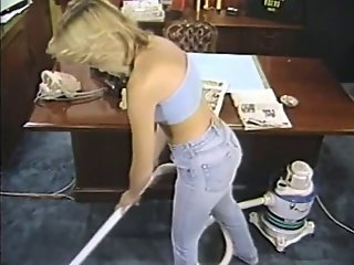 Stacy Donovan vs. Vacuum Cleaner