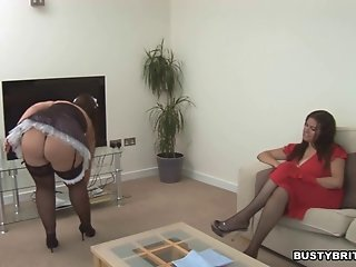 Denise Davies Seduces Maid Dani Amour