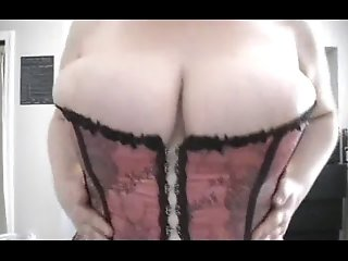 BBW - Big Breasts in Tight Corset