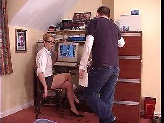 Bossy boss shows my place