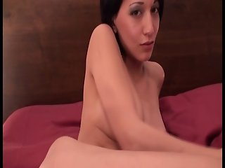 Horny Asian German Bitch Masturbating & Dirty Talk