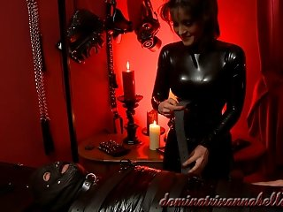 Trampling worthless slave & Hot Wax