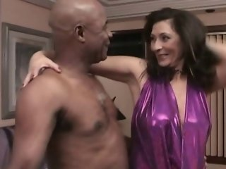 Hairy Brazilian Mature Interracial