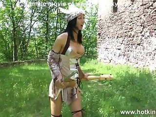 Barbarian & knight anal fisting and prolapse - hotkinkyjo
