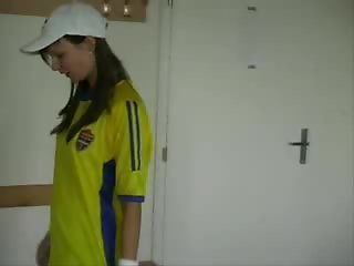 Tarra White - soccer girl