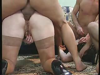 Fat mature slut getting fucked hard