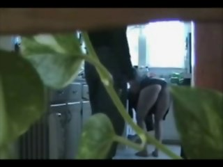 CHEATING WITH THE PLUMBER - CAUGHT ON SPY CAM (LL)