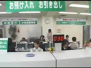 Bank clerks brutally fucked by robbers.F70