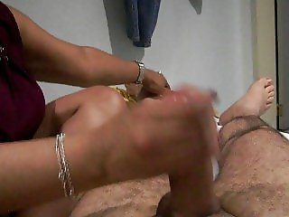 Tickling and handjob 2