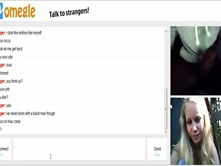 Omegle 35 (Blond outside with big tits and big ass)