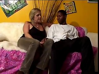 55yr old White Granny Wanda Loves to Suck and Fuck BBC