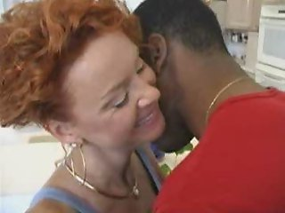 Mature amateur milf wife interracial love