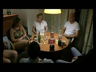 Group & anal fuck with german milfs