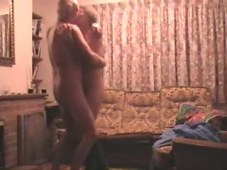 Older couples Home Made Sex Movie 2 wear-Tweed