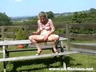 Sexy blonde mums public masturbation and outdoor flashing