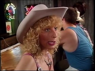 Sexy cowgirls in the bar