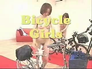Bicycle girls