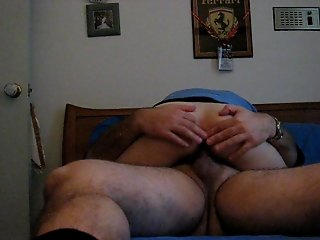Enjoying some anal