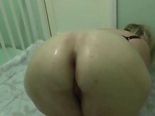 Blonde with big ass