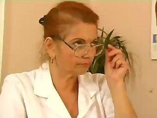 Granny Doctor Needs A Fuck