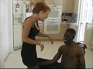 Black Cock Business for Mature Woman...F70