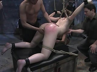 Eager to please and hungry for painful orgasms